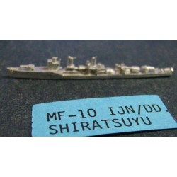 CinC MF010 Shiratsuyu DD