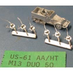 CinC US061 M13 Dual 50 Cal