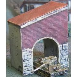 BA002 Stone and brick archway