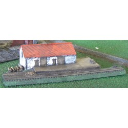 BAI217 Railroad warehouse and dock (wide gauge)