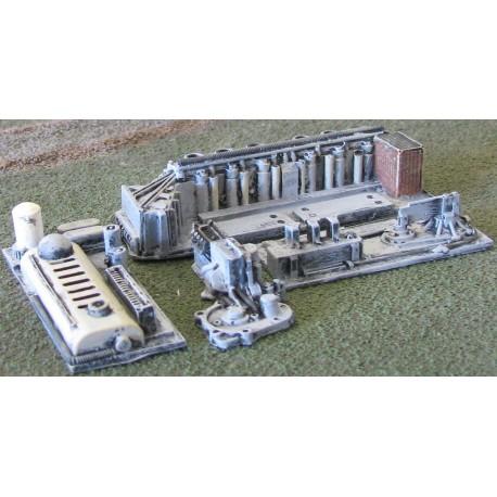 BAI221 Industrial heavy machinery (4 pieces)