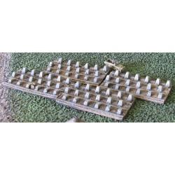 "SD003 Dragon teeth ""Siegfried line"" (4 plates)"