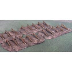 SD016 Mined shore defence (hemmbalken) (3 plates)