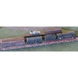 T001 German Freight Train WW2 (mixed)