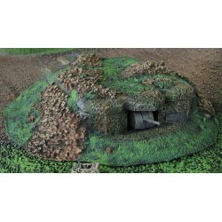 B014A Covered M270 coastal bunker with 170mm German