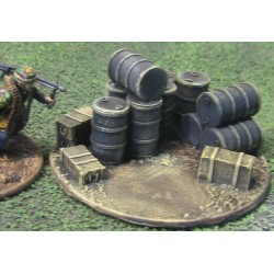 28 DI001 28mm Ammo/ Fuel Dump and objective marker