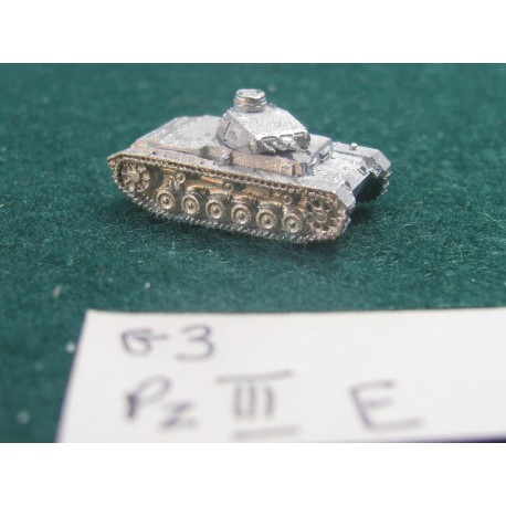 CinC G003 Pzkw III E