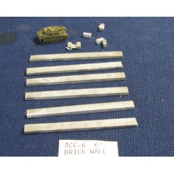 CinC ACC006 6 inch Brick Walls