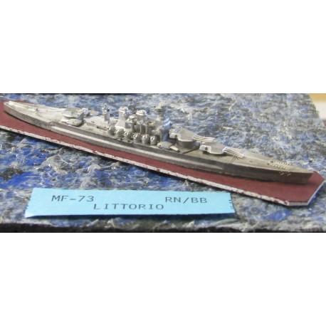 CinC MF073 Littorio Battleship