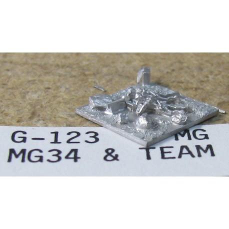 CinC G123 MG 34 Team