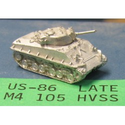 CinC US086 M4 105mm HVSS