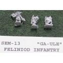 C SEM013 Ga-Ule Felinoids Infantry