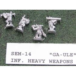 C SEM014 - Ga-Ule Felinoids Heavy Weapons