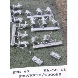 C SEM040 Ha-Lu-Ki Servants (Troops)