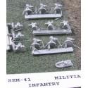 C SEM041 Militia Infantry