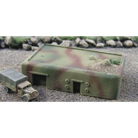 BZT002 Ostwall MG Casement & Shelter