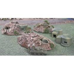 BZT008 Marianas Island MG/ AA Bunkers