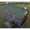 BA013 Half timbered Building