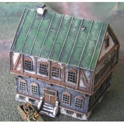 BA014 Half timbered (corner)