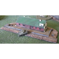 BAI217A Railroad warehouse and dock (narrow gauge)