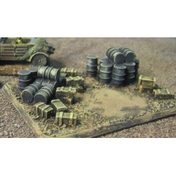 15 DI003 15mm Ammo/ Fuel Dump and objective marker